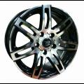 JANTA ALIAJ MegaDrive 285 - DIM6.5X15.PCD5X110 BK/P ASTRAG.H