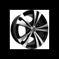 JANTA ALIAJ MegaDrive 231- DIM6X14.PCD4X100.BK/P DACIA NOVA / SOLENZA